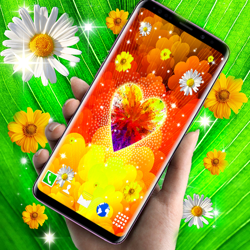 Live Wallpaper For Galaxy J2 Hearts Themes Apps On Google Play