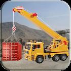Factory Cargo Crane Simulation icon