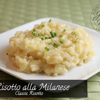 Risotto Alla Milanese (Classic Risotto) Recipe