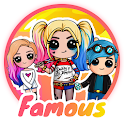 Draw Cute Famous - Drawing and Coloring Book icon