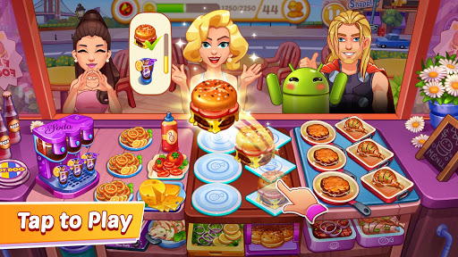 Télécharger Gratuit Crazy Cooking - Restaurant Fever Cooking Games APK MOD (Astuce) screenshots 1