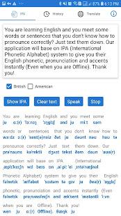 Download English Phonetics - English Text to Phonetics, IPA For PC Windows and Mac apk screenshot 2