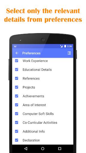 玩免費生產應用APP|下載Quick Resume Builder app不用錢|硬是要APP