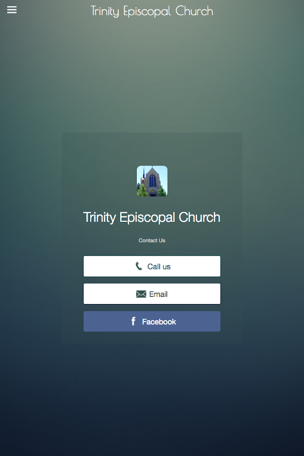 Trinity Episcopal - Reno NV- screenshot
