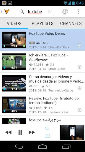 FoxTube - YouTube Player  screenshots 3