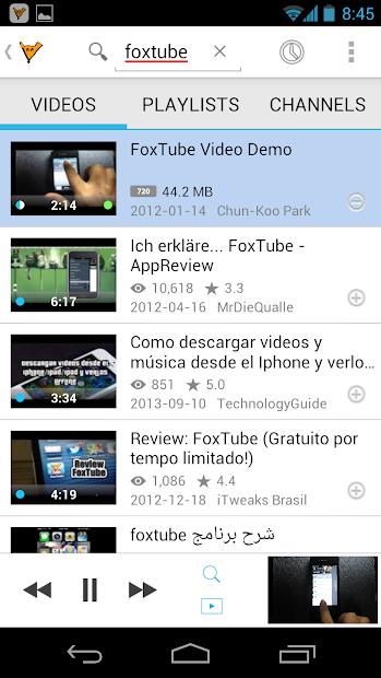 FoxTube - YouTube Player