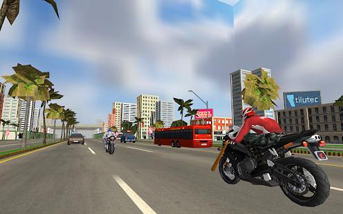 Game Superhero 3D Vegas City Ride - Moto Racing Fight APK for Windows Phone