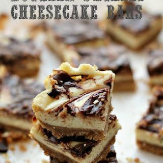 Nutella Swirled Cheesecake Bars Recipe