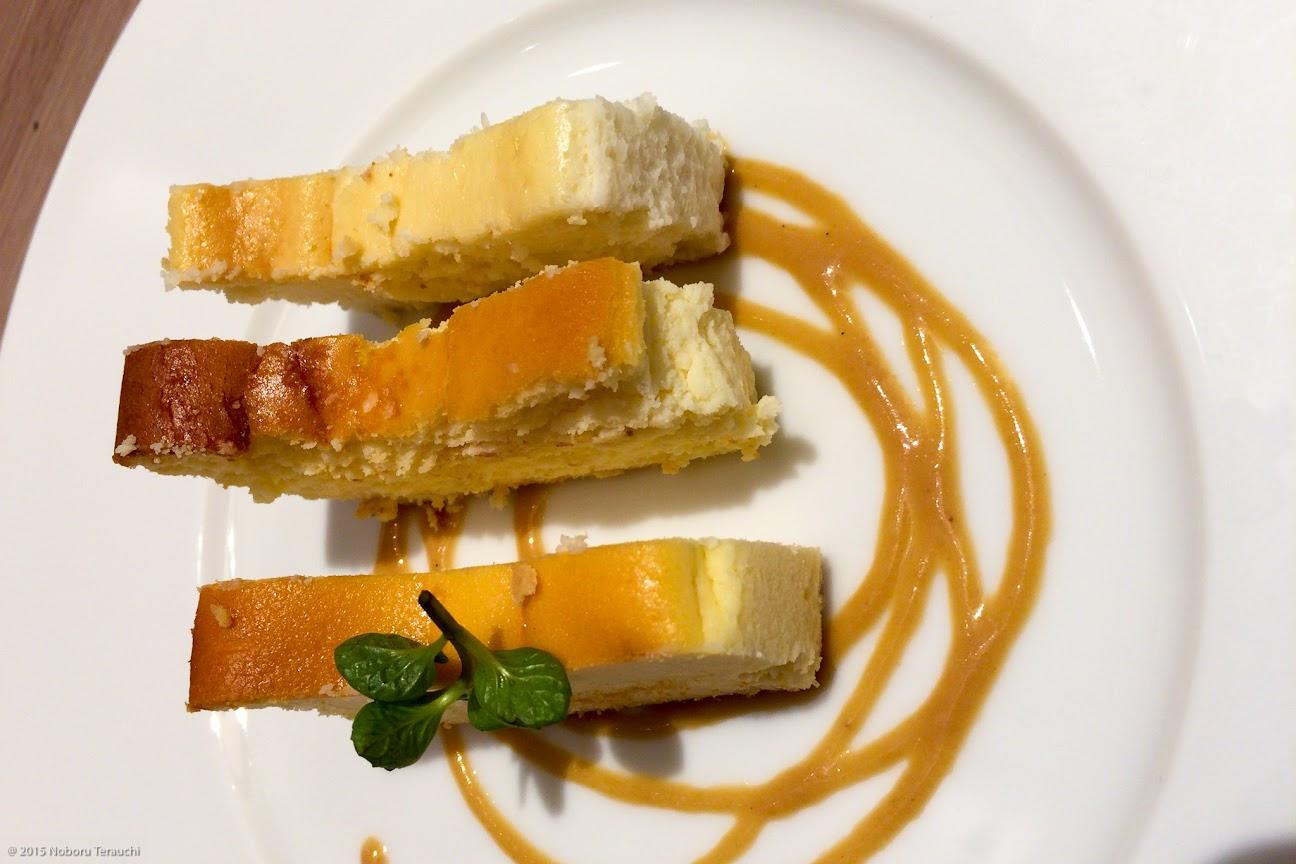 3種類のチーズケーキ