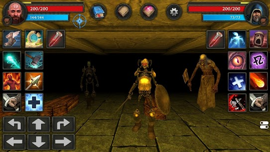 Moonshades Mod Apk – a dungeon crawler RPG game 3