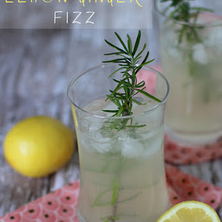 Lemon Ginger Fizz