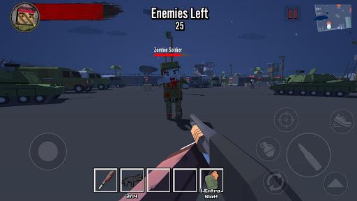 Blocky Zombie Survival 2 apkpoly screenshots 3