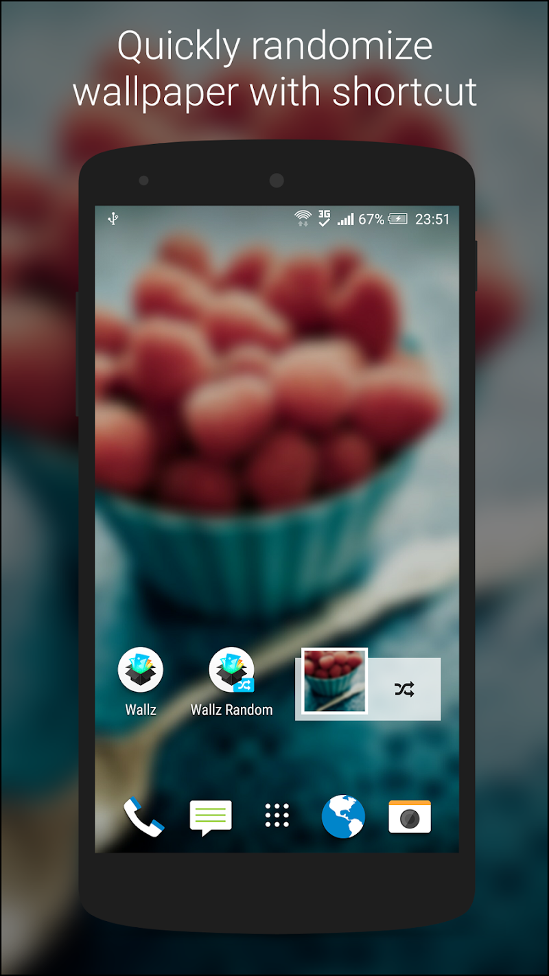 Wallz - HD Stock, Community & Live Wallpapers Screenshot 6