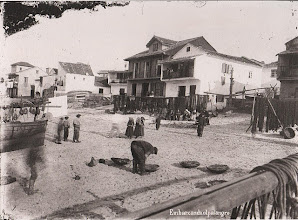 Photo: Embarcando o palangre nas Corbaceiras