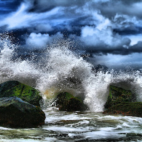 Hurricane, Puerto Rico by Andy Barrow - Landscapes Waterscapes