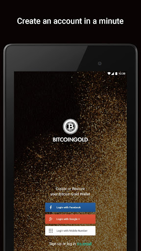 Bitcoin Gold Wallet by Freewallet screenshot 10