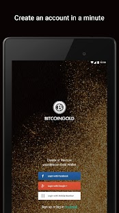 Bitcoin Gold Wallet by Freewallet- screenshot thumbnail