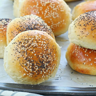 Homemade Burger Buns Recipe With Step By Step Video