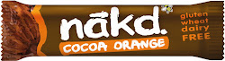 Nākd Cocoa Orange Raw Fruit & Nut Bar - 35g