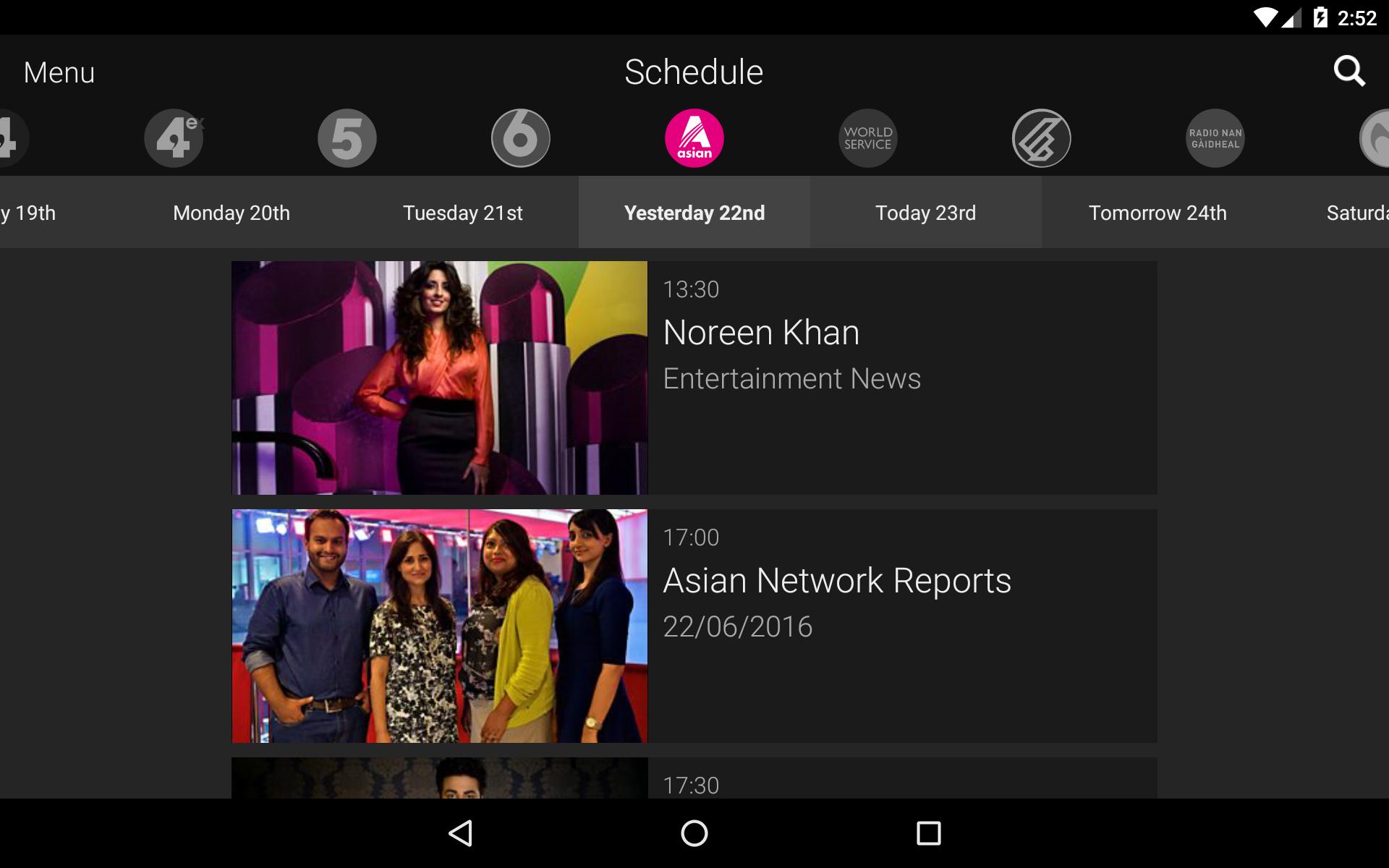 BBC iPlayer Radio screenshot #14