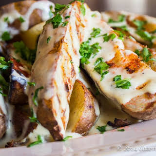 Smoky Grilled Potato Wedges.