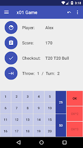 Darts Scoreboard For a Party screenshot 0