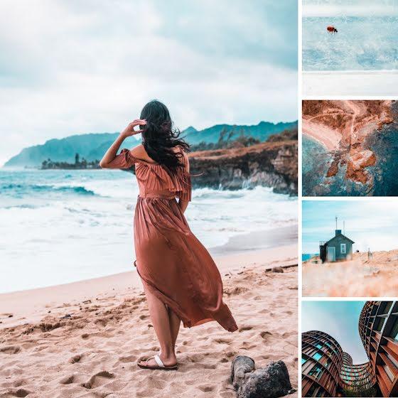 Beachfront Collage - Instagram Post Template