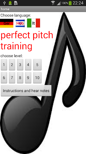 perfect pitch training 4.0.1 screenshots 1