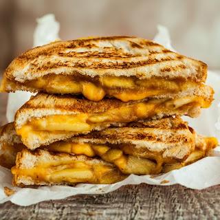 Grilled Cheese and Apple.