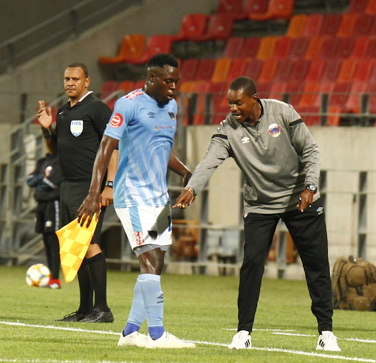 Image result for norman mapeza with Chippa United