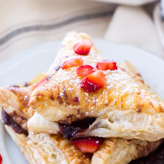Strawberry Nutella Turnovers.