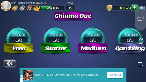 Briscola Pazza OnLine  screenshots 1