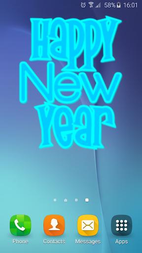 New Year Widget
