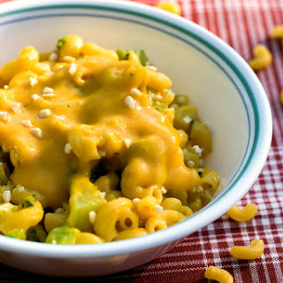 Vegan Mac and Cheese.
