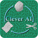 Clever AI: Rock Paper Scissors icon