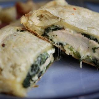 Greek Spinach Feta Chicken Bake.