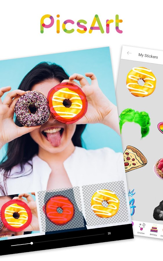 PicsArt Photo Studio 100% Free- screenshot