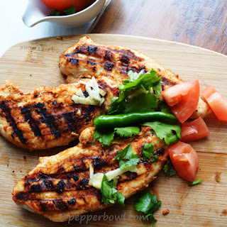 Tandoori Grilled Chicken Breast, a Bachelor's.