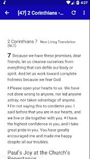 NLT Audio Bible Free. - náhled