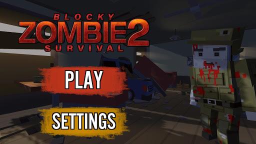 Blocky Zombie Survival 2 apkpoly screenshots 2