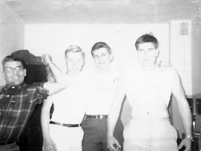Photo: Dad and others