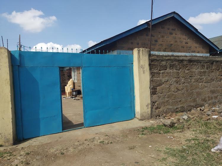 Ivy Wangeci's home in Makongeni Phase 10 Estate, Thika town