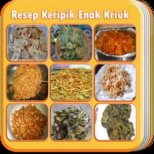 Resep Keripik Enak Kriuk - náhled