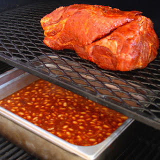 Pulled Pork BBQ Smoked Beans