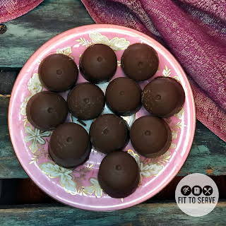 Low Carb Chocolate Peanut Butter Fat Bombs.