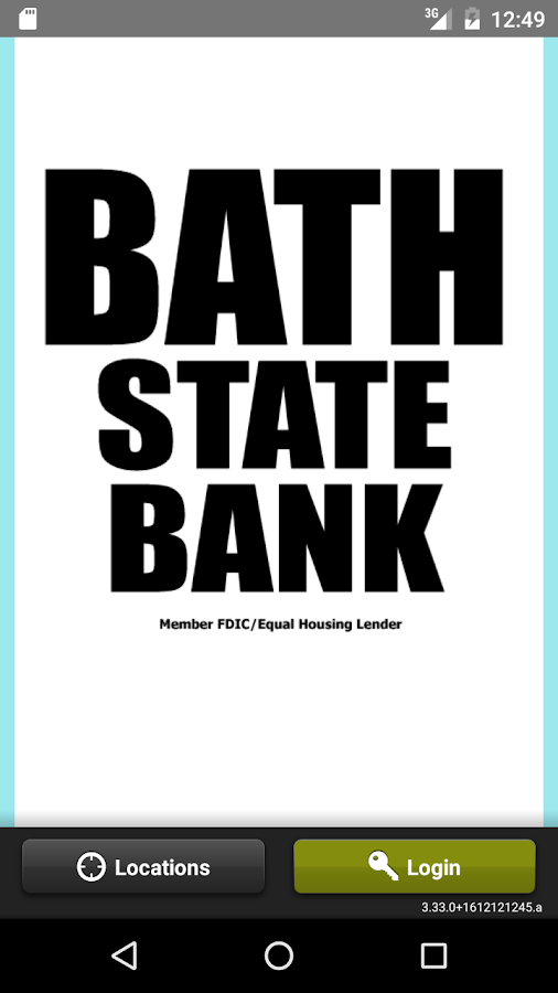 Bath State Bank Mobile Banking Android Apps On Google Play