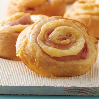 Ham and Cheese Crescent Roll-Ups.