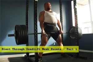 Big Powerlifter Sumo Deadlift