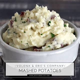 Volena and Eric's Company Mashed Potatoes.