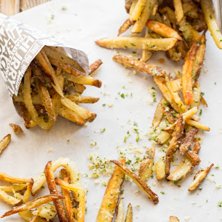Oven Baked Parmesan Truffle Fries.